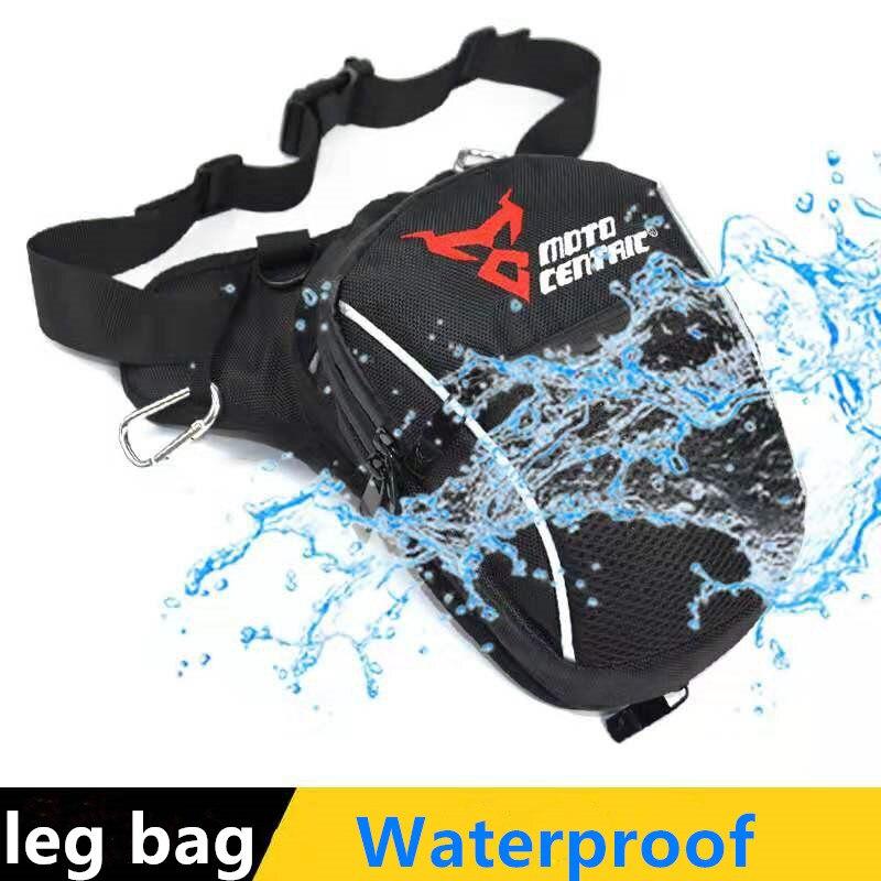 Сумка для ног для мотокросса, водонепроницаемая нейлоновая поясная сумка для Yamaha Suzuki, универсальная, для активного отдыха, бега, спорта, мот...
