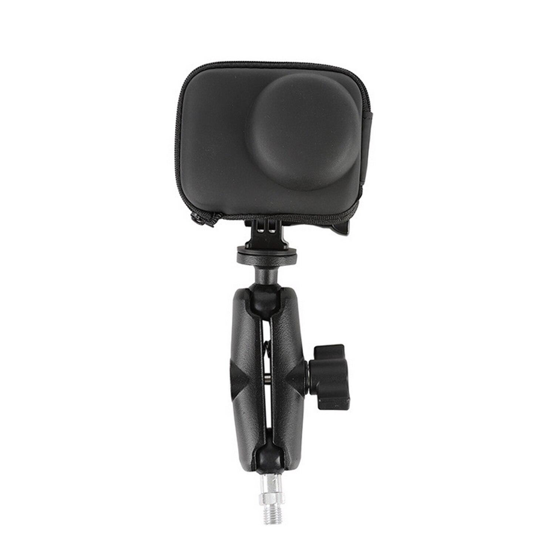SUNNYLIFE Универсальный Портативный PU чехол для хранения сумка с полуоткрытой молнией для Insta360 One R 4K панорамная линза Leica версия
