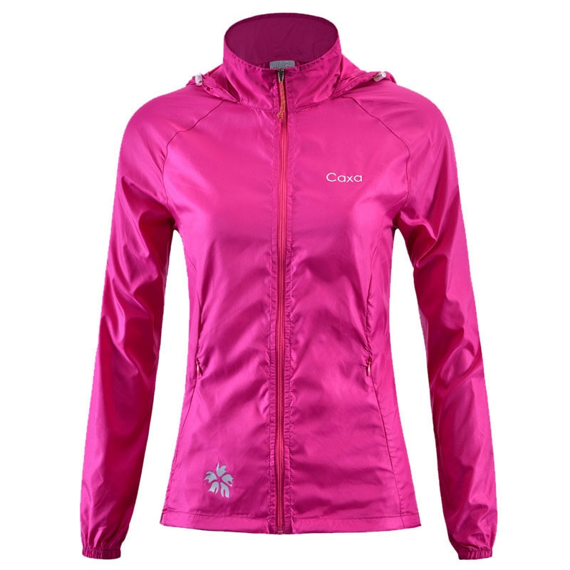 Outdoor Women Quick Drying Jacket Anti-UV Waterproof Wind And Rain Ultralight Thin Nylon Skin Jacket Hiking Cycling Jacket S-XL 2019 new summer ultra thin skin sports outdoor women s quick drying sunscreen waterproof breathable air conditioning jacket