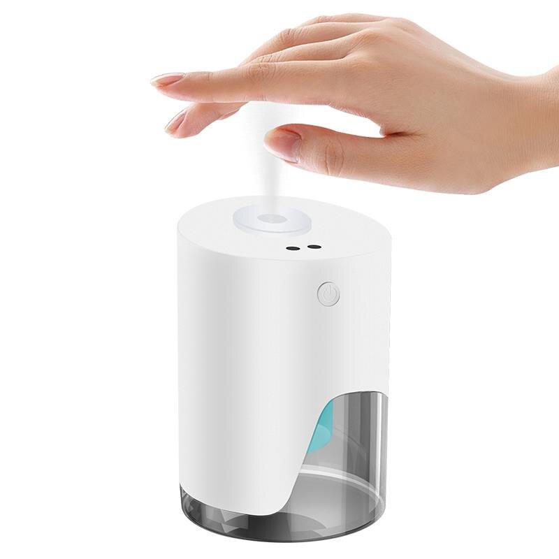 Distributeur automatique portatif de savon de jet de stérilisation dalcool dinduction de main infrarouge de pulvérisateur dinduction