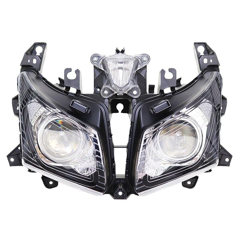 دراجة نارية المصباح رئيس ضوء مصباح كشافات الإسكان الجمعية عدة لياماها TMAX530 T-MAX530 T-MAX TMAX T ماكس 530 2012-2014