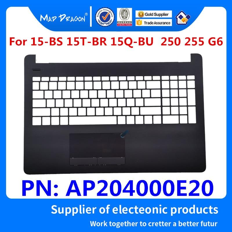 MAD DRAGON a estrenar laptop palmrester tapa superior funda superior gris C shell para HP Pavilion 15-BS 15-BR 15Q-BU 250 255 G6 AP204000E20