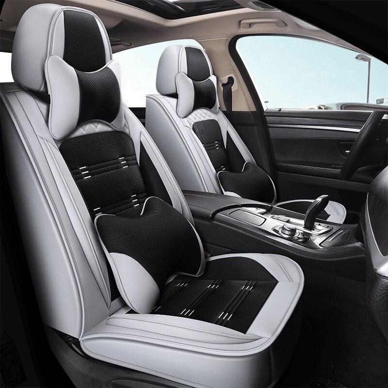 Cubierta de asiento de coche para Toyota corolla chr yaris hilux avensis t25 auris rav4 Camry Avalon 4runner prado 120 Pruis FJ Cruiser Prado