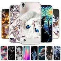 case for lg x power silicone soft tpu phone case for lg x power f750 k210 k450 xpower cases cute cat animal fundas coque covers