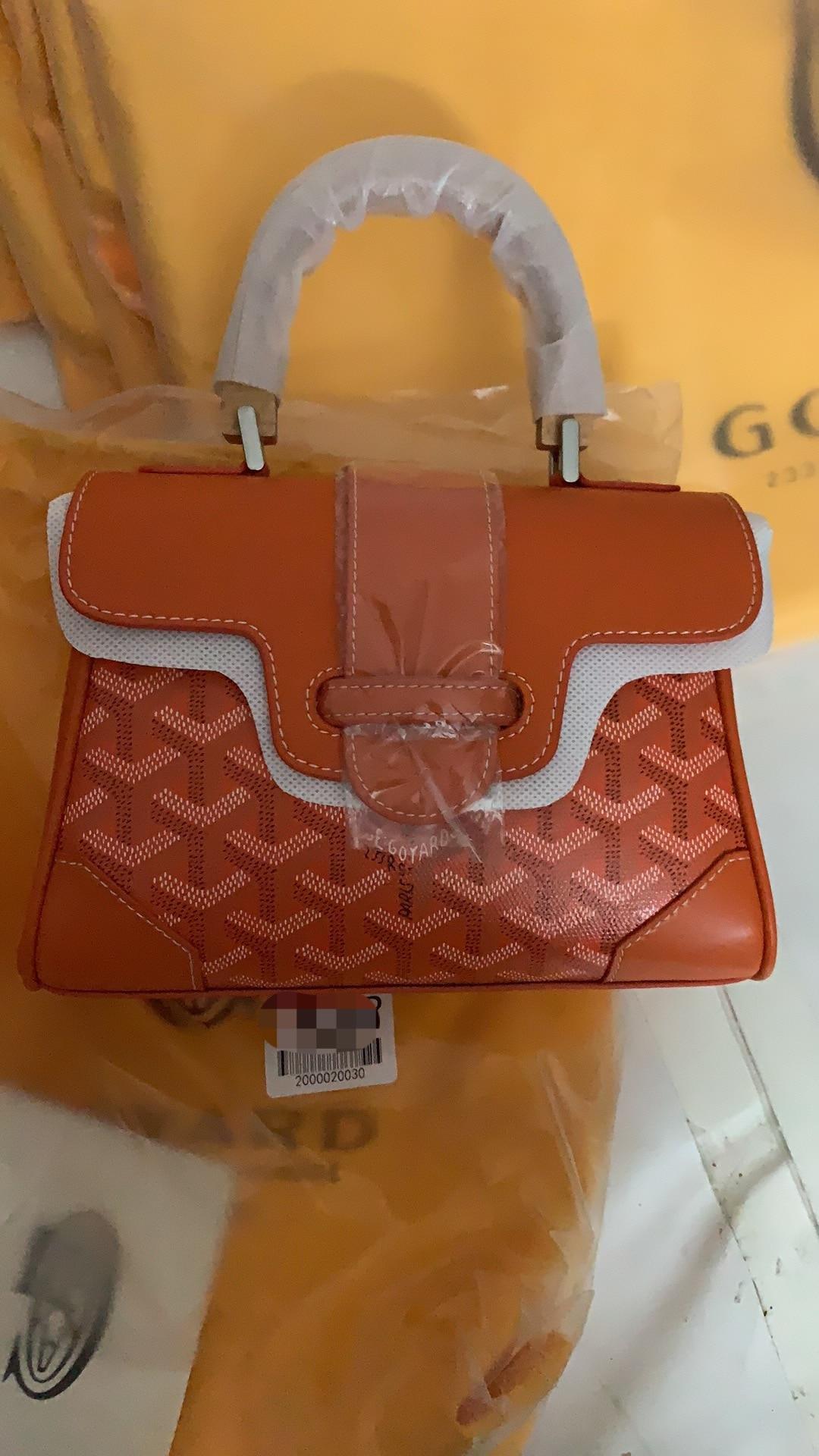 Goya-goياردة نمط Saigon حقيبة يد خشبية عقد حقيبة كيلي صغيرة واحدة الكتف حقيبة يد كروس مطبوعة حقيبة جلدية