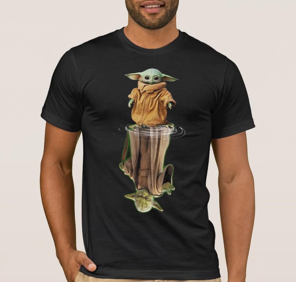 Baby Yoda and Master Yoda Men's T Shirt
