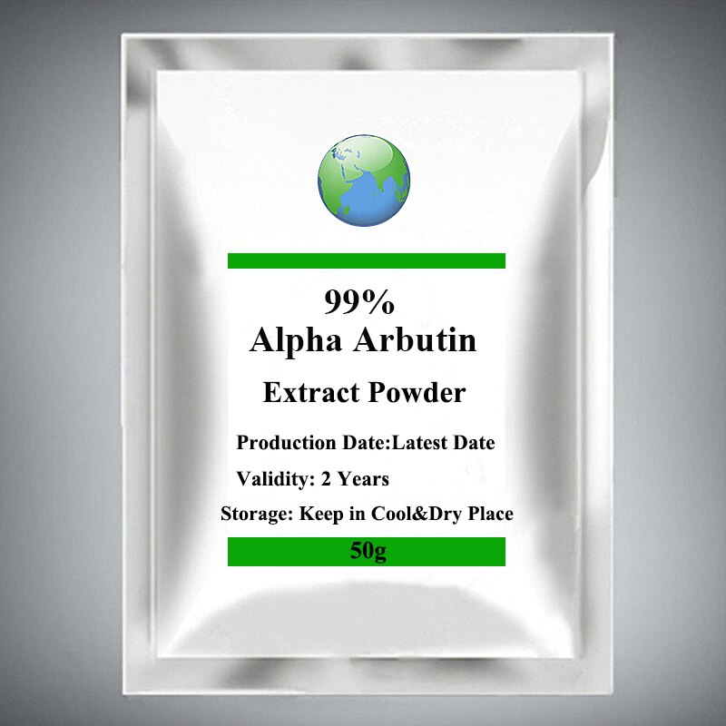 99% Alpha Arbutin Powder,Face Dark Spot Removal Beauty Anti Aging Whitening Cream Skin Care Arbutoside,Skin Whitening Supplement