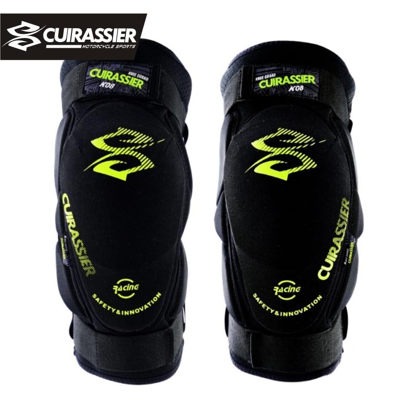 Наколенники для мотоцикла Cuirassier K08, защита для голени, для мотокросса MX, защитная Экипировка, для катания на роликах, гонок