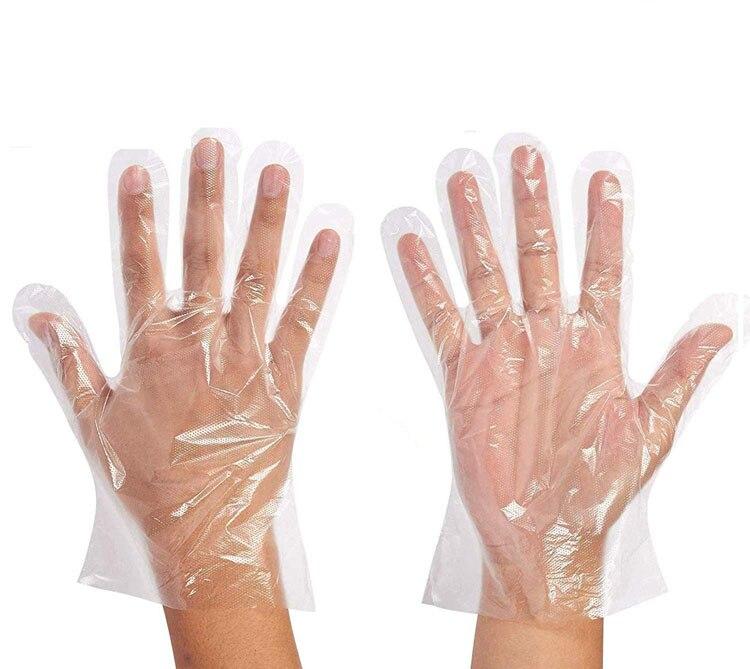Одноразовые пластиковые пищевые перчатки для ресторана, кухни, аксессуары для барбекю, экологически чистые пищевые перчатки, перчатки для ...