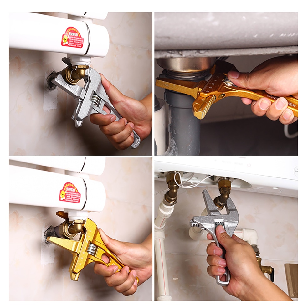 AI-ROAD Water Pipe Wrench multipurpose use