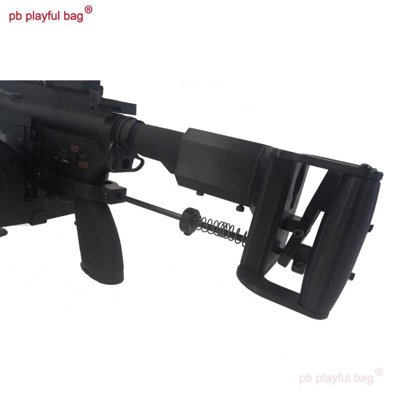PB لعوب حقيبة الرياضة في الهواء الطلق معدات التكتيكية DK-AR هلام الكرة الرشاشات الثقيلة 416 لتقوم بها بنفسك M4 ملحقات لعبة الدعم الخلفي KG11