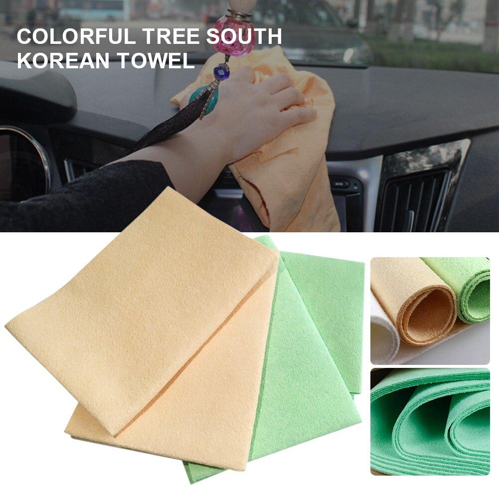45x50 см автомойки Полотенца микрофибра супер впитывающая салфетка для чистки автомобилей утолщенной с подробным описанием сушка ткань для м...