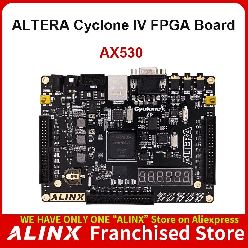 ALINX AX530: ALTERA NIOS Cyclone IV EP4CE30F FPGA Development Board DDR2 Gigabit Ethernet USB