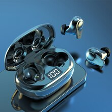 Wireless Bluetooth Gaming Headphones Noise Cancelling Waterproof Sports Earbuds Touch Control With M