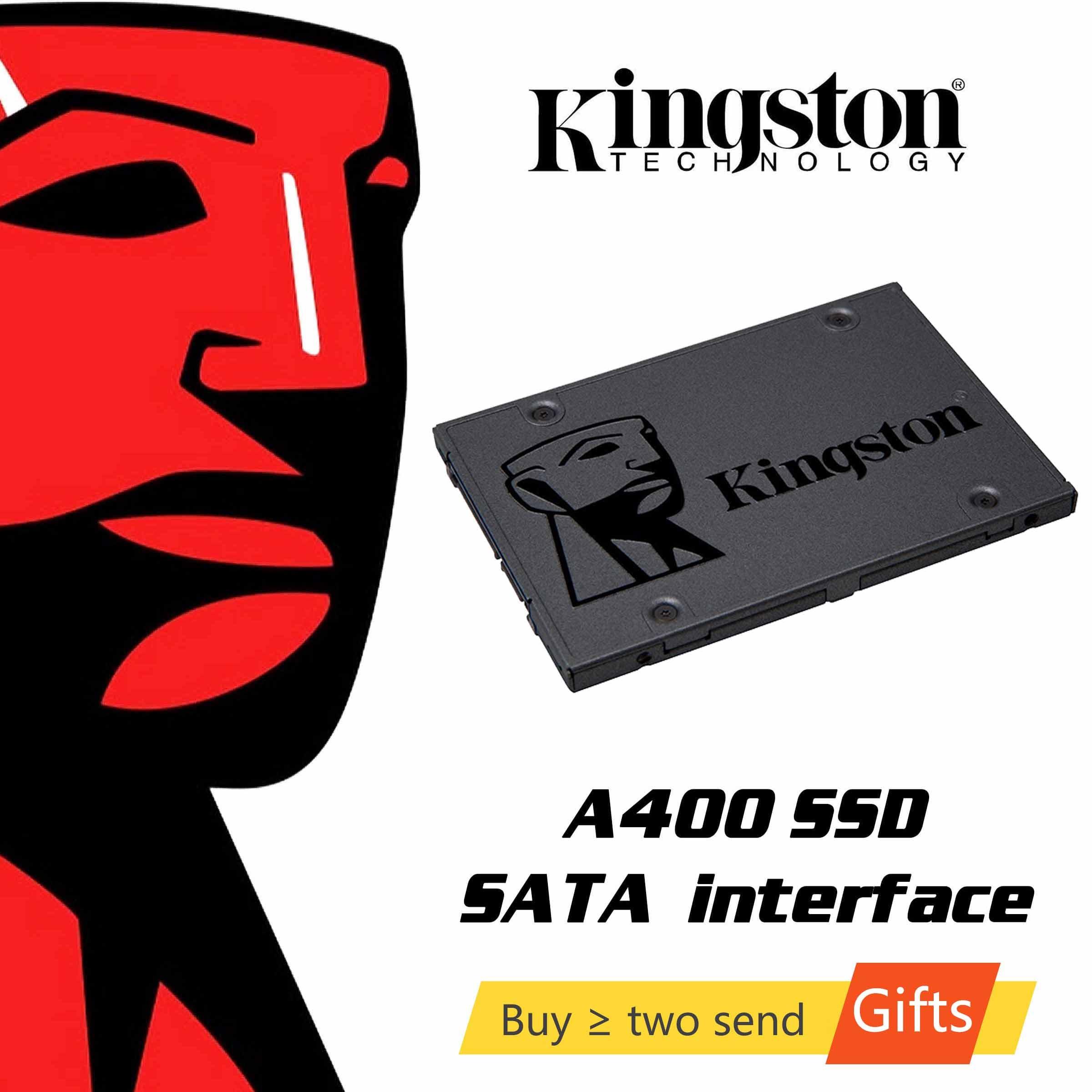 كينغستون A400 SSD محرك الحالة الصلبة الداخلية 120GB 240GB 480GB 2.5 بوصة SATA III محرك أقراص صلبة HDD HD الكمبيوتر المحمول 960GB
