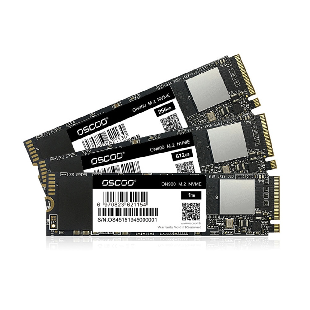OSCOO TLC + 2263XT M.2 2280 PCIe NVME M.2 SSD 1 تيرا بايت 512 جيجابايت 256 جيجابايت 128 جيجابايت محركات أقراص داخلية صلبة قرص صلب للكمبيوتر المحمول