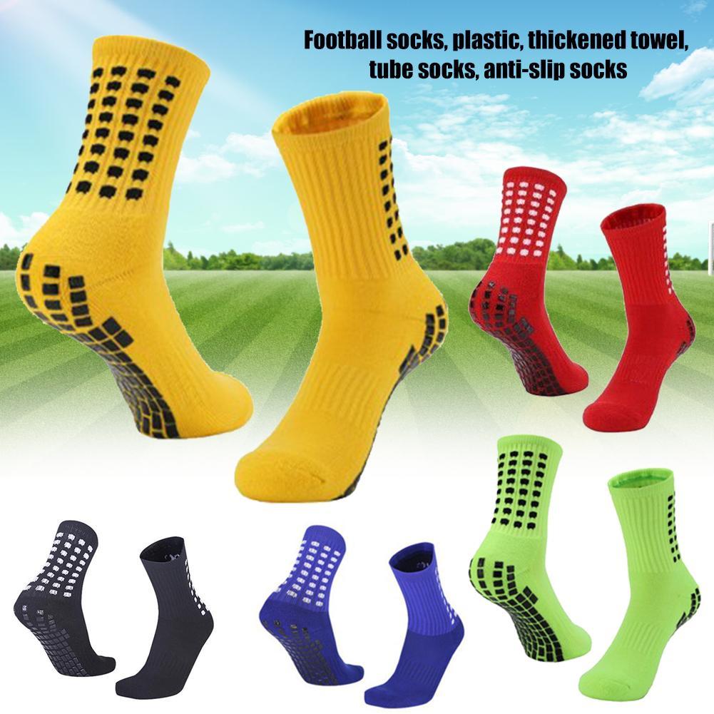 Al aire libre de alta calidad profesional marca Deporte Running fútbol transpirable algodón antideslizante fútbol Tube calcetines de Ciclismo de carreras