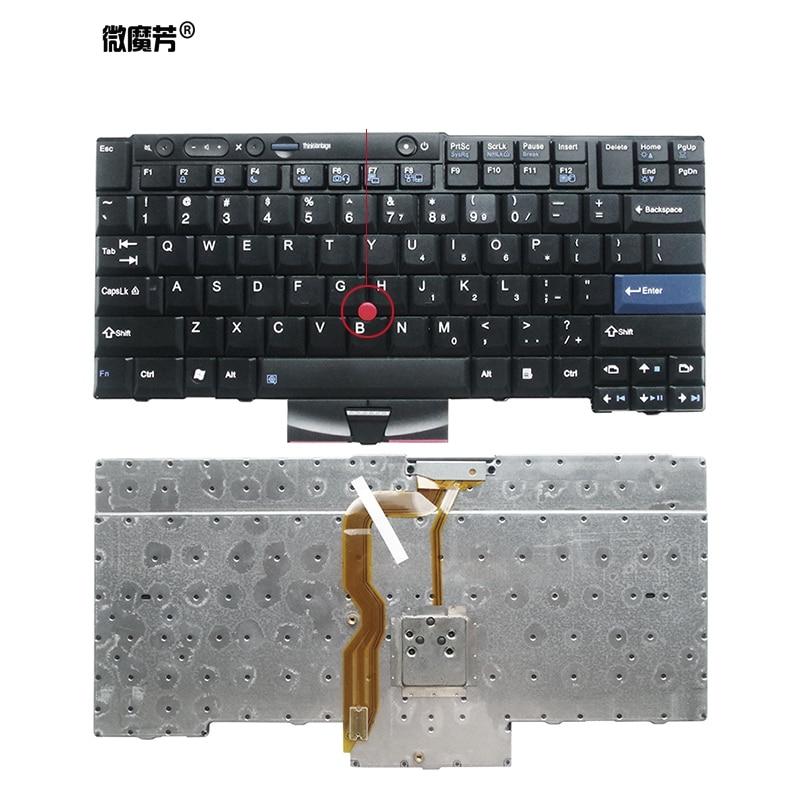 Новая английская клавиатура для ноутбука LENOVO Thinkpad T410 T420 X220 T510 T510i T520 T520i W510 W520 T400S T410I T420I X220i T410S T420S