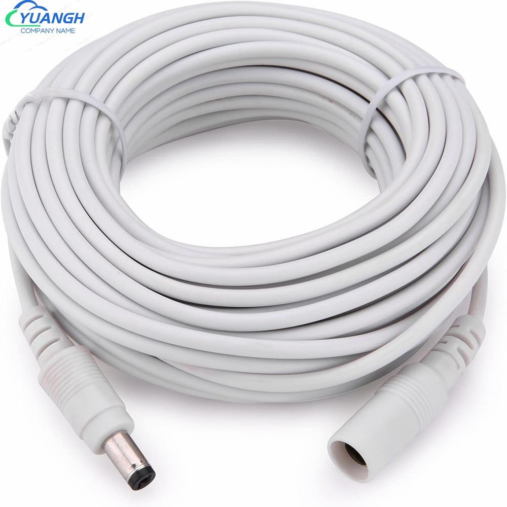 Cable de extensión para adaptador de corriente de 12V CC, Cable de...