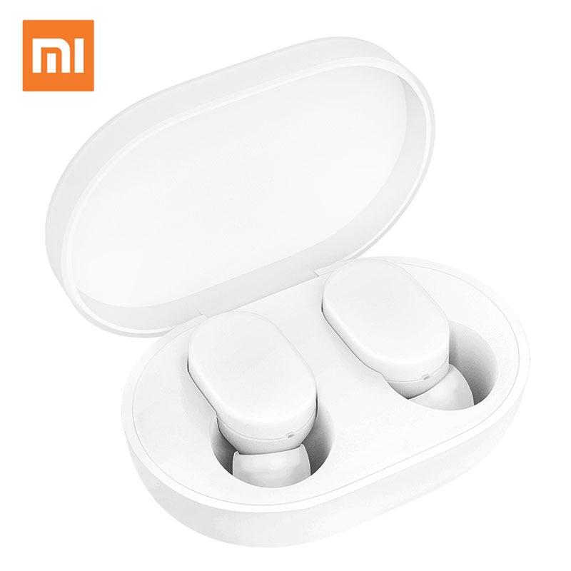 Mi Xiaomi Bluetooth наушники AirDots Молодежная версия белые мини беспроводные стерео наушники xiomi беспроводные наушники