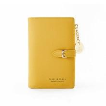 Women short wallet female cute purse Many Department Ladies Small Clutch Money bag Coin purse Card H