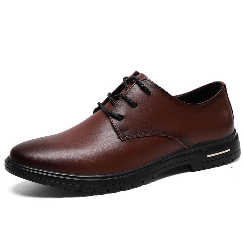 Фото - Классические черные официальные туфли; мужские туфли из натуральной кожи; Мужские модельные туфли; модные деловые туфли; Кожаные Туфли-оксф... carlabei туфли carlabei ha833 121 q466