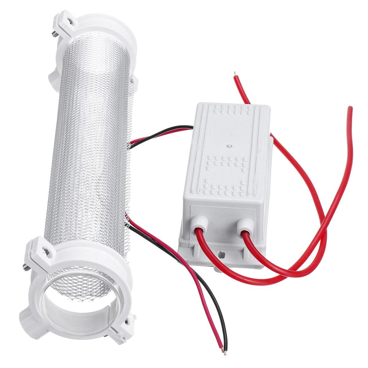 AC220V 10G/15G/20G أنبوب السيليكا مولد أوزون مولد الأوزون أنبوب لتنقية الهواء منقي هواء مزيل الروائح لتقوم بها بنفسك