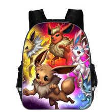 Anime Pokemon Backpack Boys Girls School Bags Children Pikachu kindergarten Backpack For Kids Gift Backpacks Schoolbags Mochilas