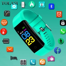 New Sport Watch Children Watches Kids For Girls Boys Students Wrist Clock Electronic LED Digital Chi