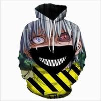 brand new autumn and winter mens hoodie long sleeved tops mens hoodies harajuku style casual 3d anime hip hop hoodies