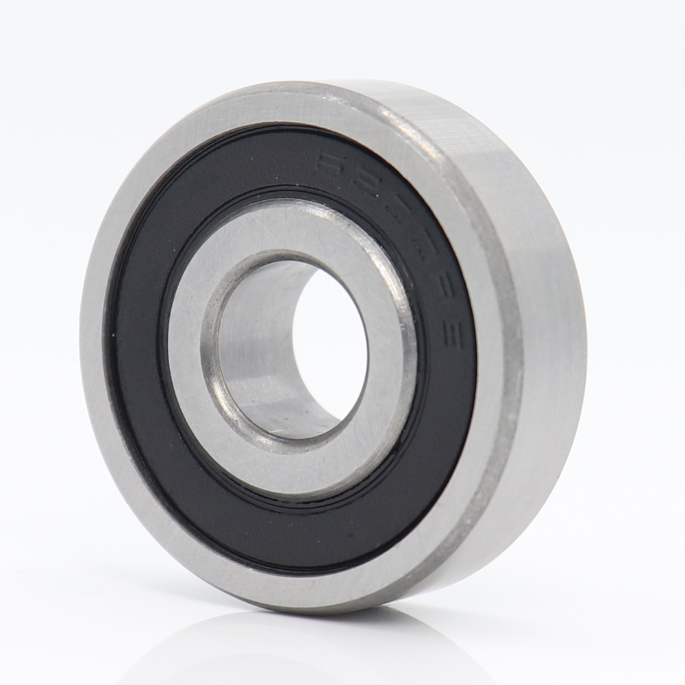 6200 rodamiento de cerámica híbrido 10*30*9mm ABEC-1 1PC eje de Motor industrial 6200HC híbridos Si3N4 rodamientos 3NC 6200RS