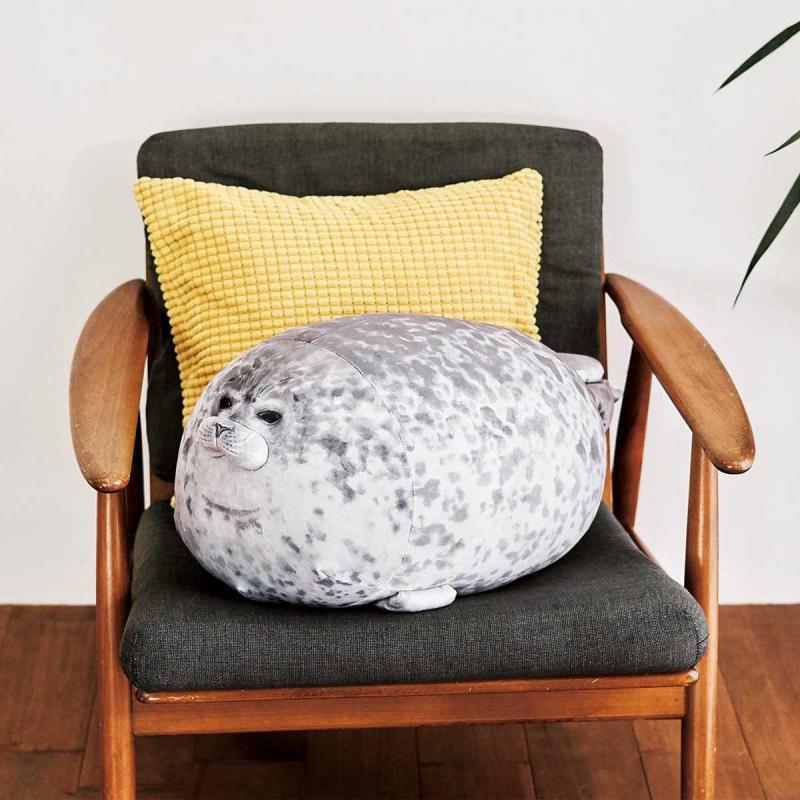 1Pcs 20-40cm Soft Cute Novelty Sea Lion Plush Toys Seal Plush Stuffed Doll Baby Sleeping Throw Pillow Gifts For Kids Girls