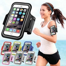 New 1PC Outdoor Sports Phone Holder Armband Case for Samsung Gym Running Phone Bag Arm Band Case for