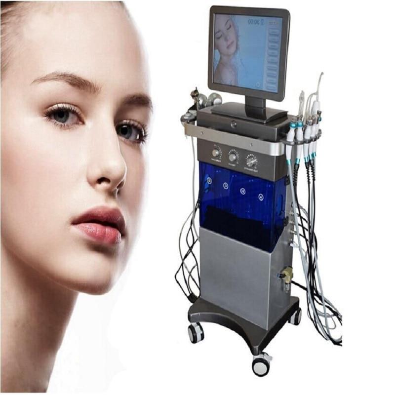9 En 1 mejora la piel opaca PDT hidratante dermoabrasión oxígeno spray eliminación de arrugas instrumento de belleza