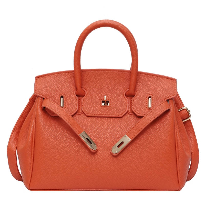 Fashion lady handbag high quality PU leather lady designer one shoulder messenger bag and wallet lady chain messenger bag