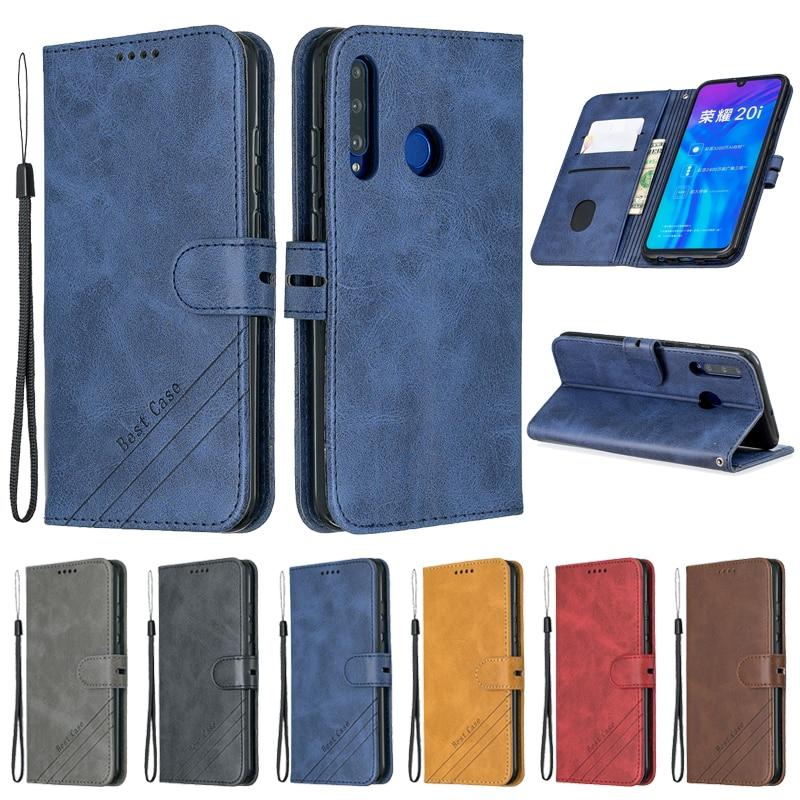 Huawei Ehre 10i Fall Leder Flip Fall auf Für Coque Huawei Honor 10i 20i 10 Lite 9X 20 Pro 8A fall Abdeckung Magnetische Brieftasche Abdeckung