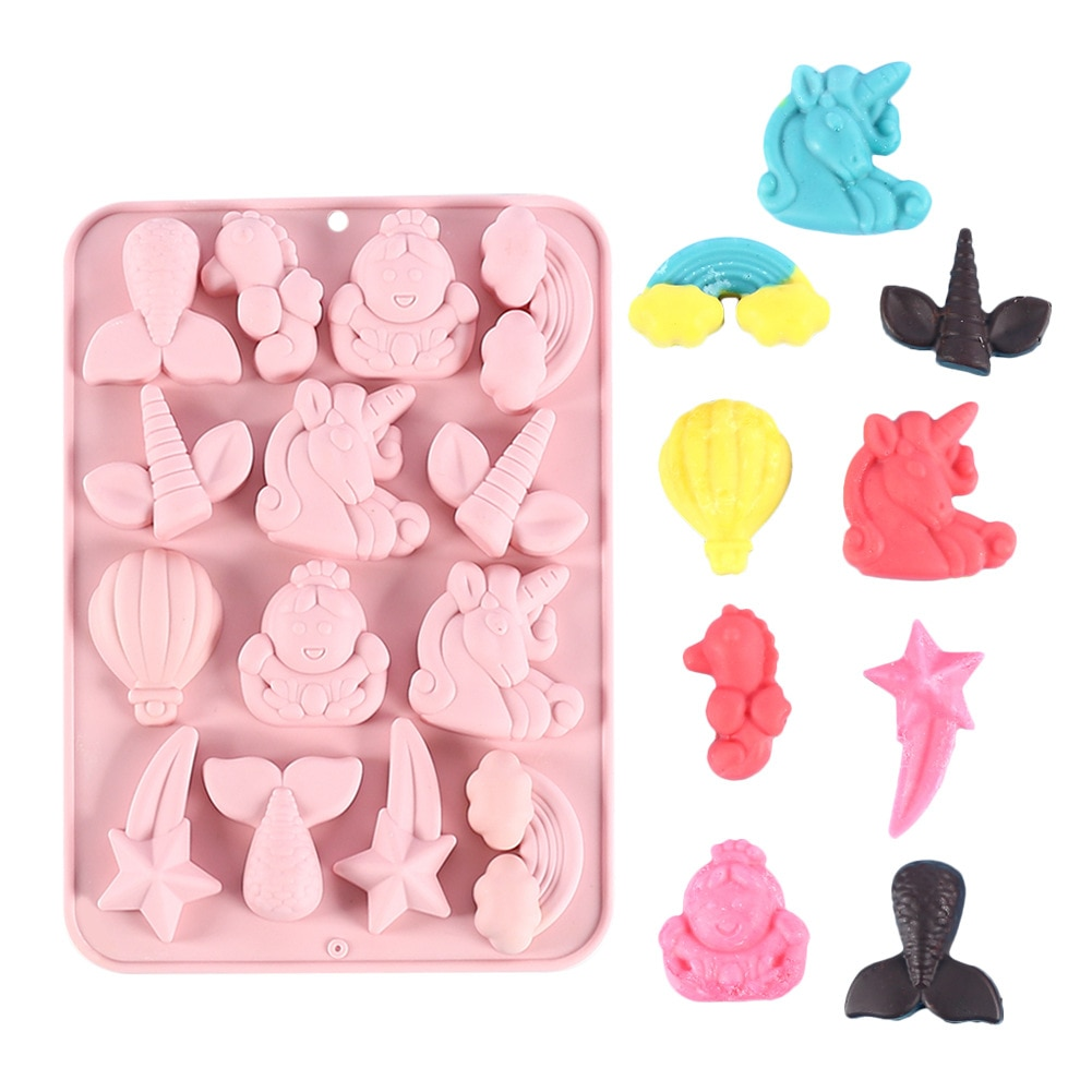 DIY Crystal Silicone Mold Square Fondant Cake Resin Epoxy Molds For Baking Decoration Chocolate Casting Mould Handmade Crafts macaron silicone mould chocolate mold fondant cake decoration baking tool handmade soap silicone mold