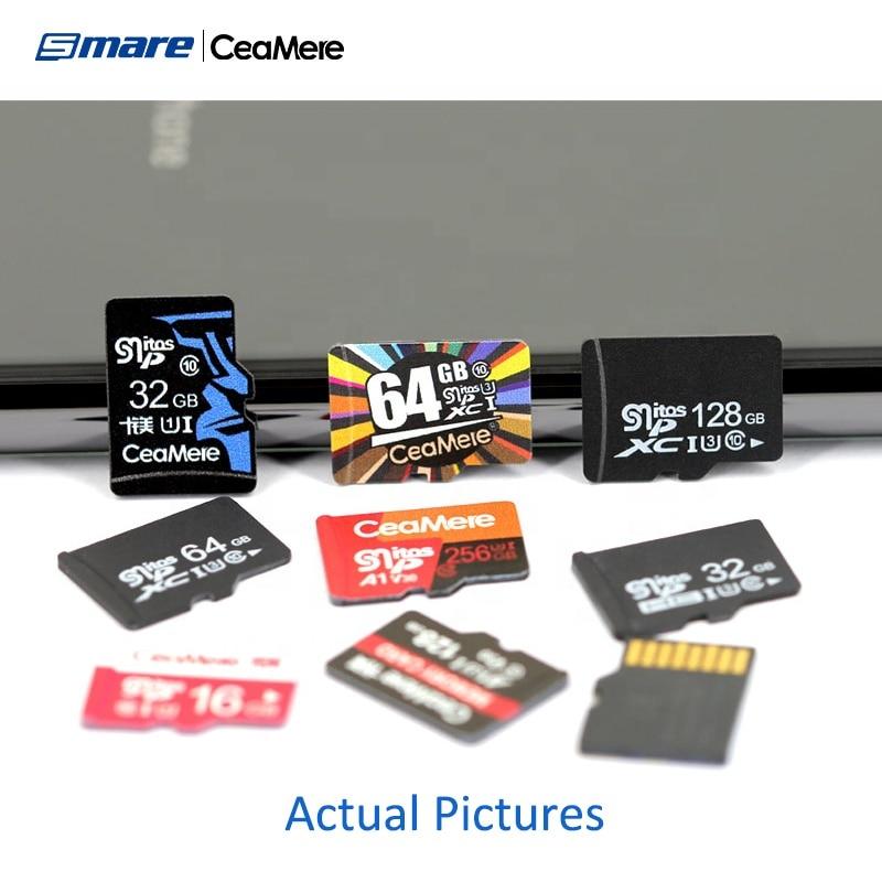 Custom Logo Wholesale Real Capacity Memory Card 100PCS 32GB 16GB 64GB 128GB 256GB Micro SD Card Class10 U1 U3 SD Original Mem enlarge