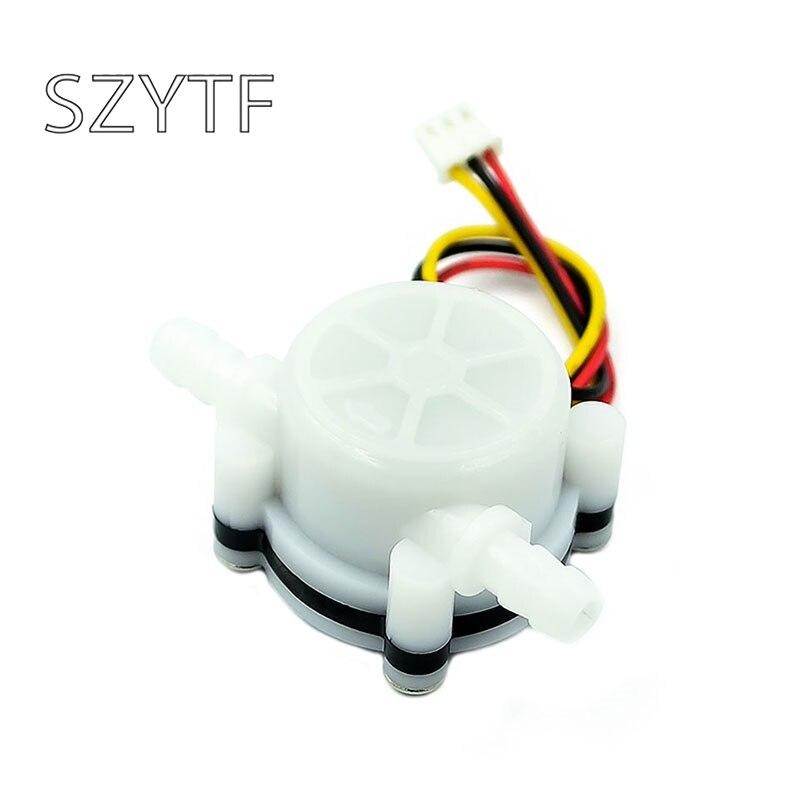 Máquina de café medidor de fluxo de água sensor de fluxo de água conectado a 6mm mangueira purificador de água salão sensor YF-S401