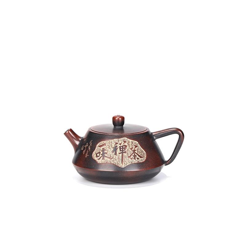 ييشينغ الفخار إبريق الشاي بالجملة ييشينغ اليدوية إبريق الشاي Zisha كامل اليدوية الصينية غونغ فو طقم شاي للشرب الأخضر شاي أبيض