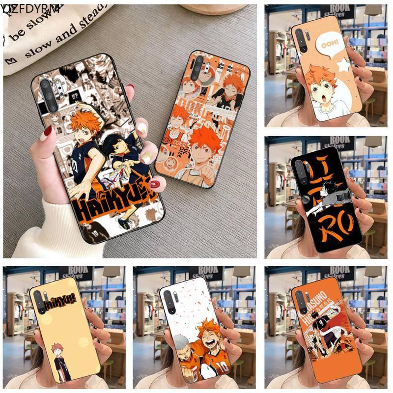 Tee Hinata ataques Anime de lujo única de la cubierta del teléfono para Samsung Nota 7 8 9 10 Plus lite Galaxy J7 J8 J6 Plus 2018