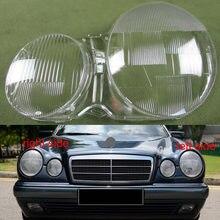 Couvercle de phare pour abat-jour   Pour 1995 1996 1997-2003 mercedes-benz W210 E200 E240 E260 E280 coque transparente pour phare