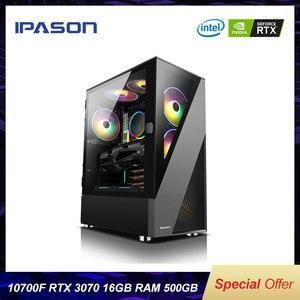 Процессор Intel 10-го поколения i7 10700F/GeForce RTX3070 8G/для игр в реальном времени PUBG/League of Legends компьютер DIY сборная машина