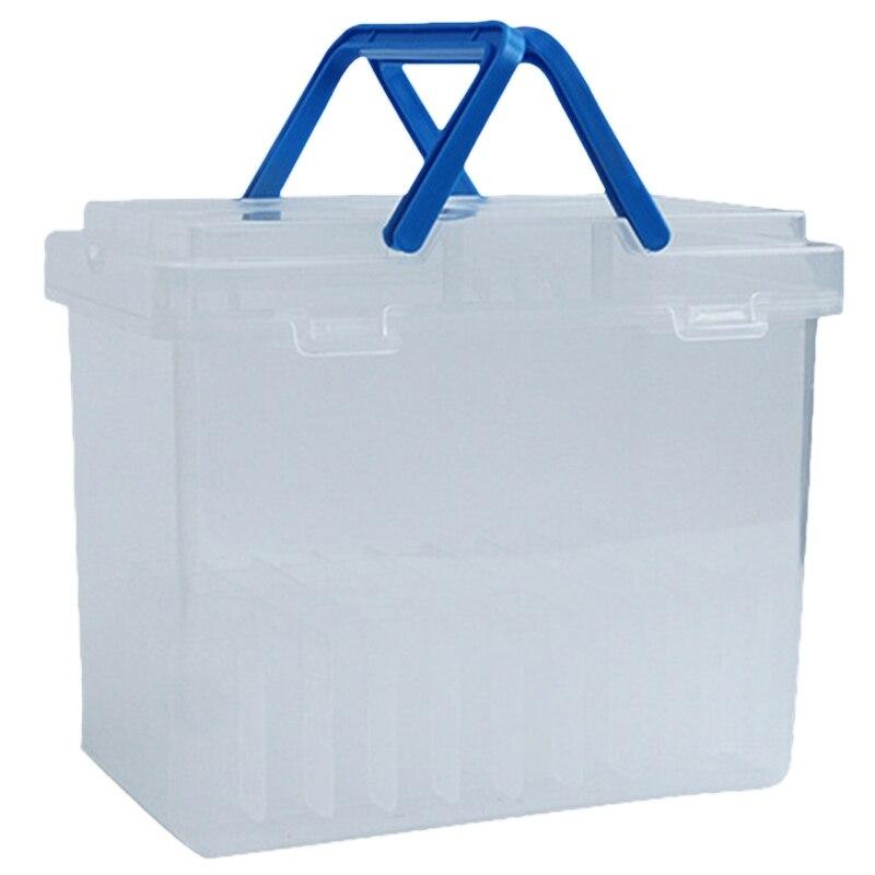 Rotulador portátil de plástico de 80 ranuras para dibujo, rotulador para bocetos, caja de almacenamiento de consolidación