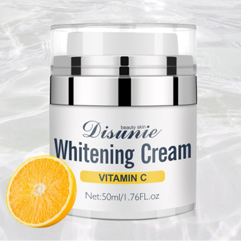 Face Cream from Wrinkles Acne Vitamin C Lightening Whitening Cream Skin Care Remove Black Dots