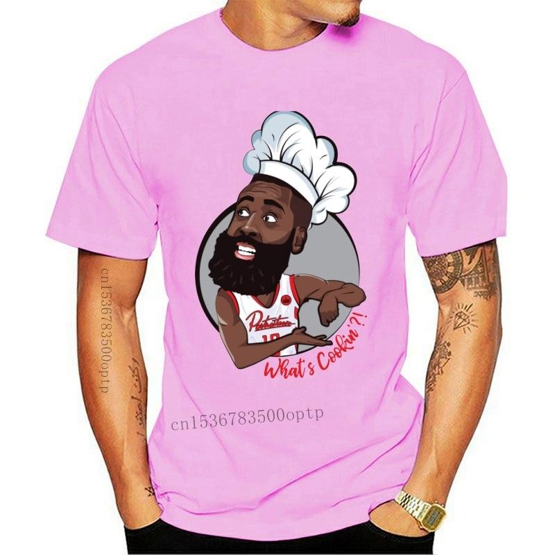 New Funny Hip Hop Respect The Beard harden T Shirt Men's Quality Cotton Crewneck Tee Shirt S-6XL Plus Size