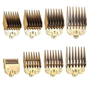8Pcs for Wahl Hair Clipper Limit Comb Guide Attachment Size Barber Replacement Hair Salon Tools Barber Accessories