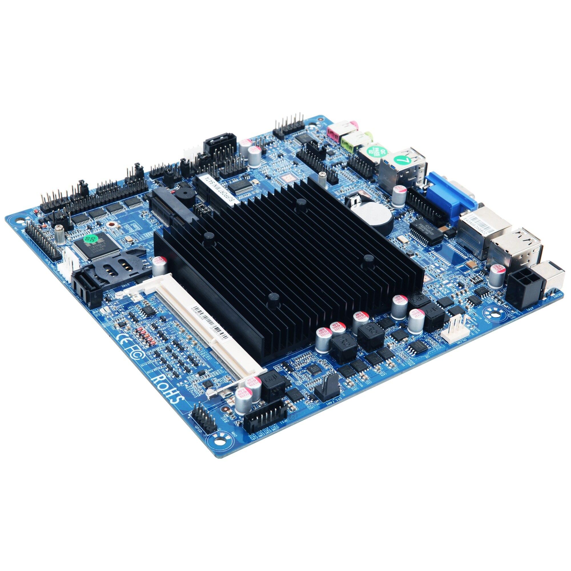Windson J1900 التحكم الصناعي الذكي التلقائي الأمن كمبيوتر مصغر اللوحة الأم