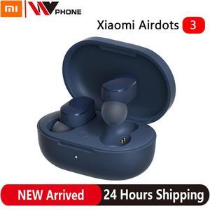 AirDots 3 Mi True Wireless Bluetooth 5.2 Earphone Stereo Auto Link Smart Wear Touch Control Apt-X Adaptive Headset