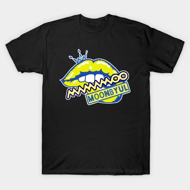 Camiseta para hombre Mamamoo moonbyul camiseta para mujer